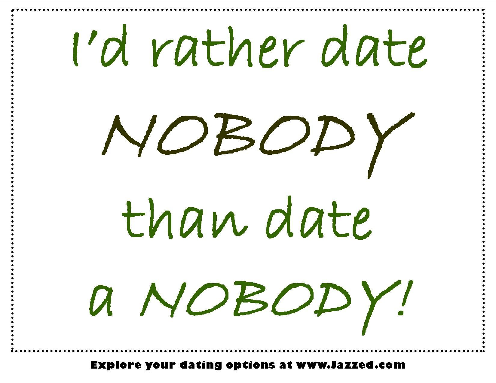 Keep dating losers