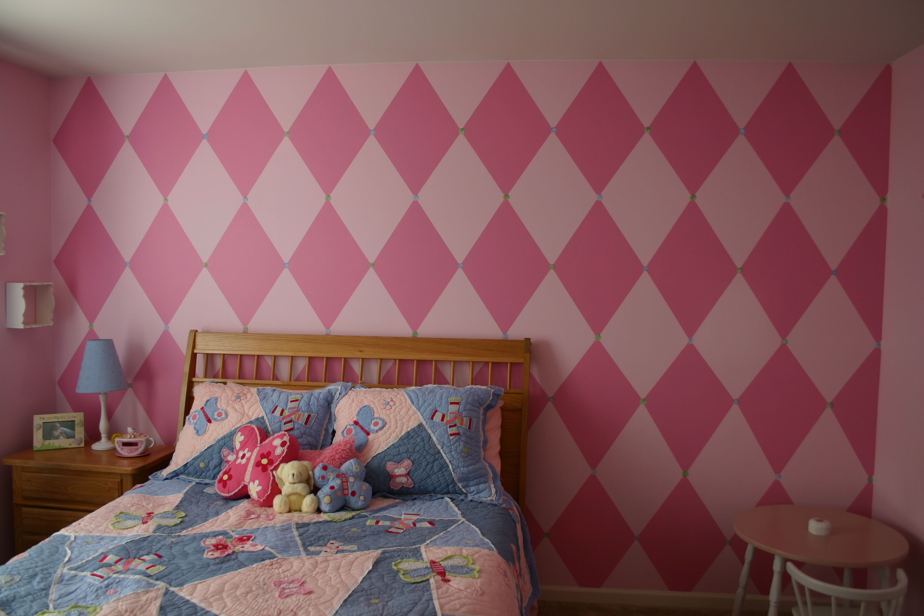 Harlequin Little Girl Room Interior Paint Ideas Pinterest