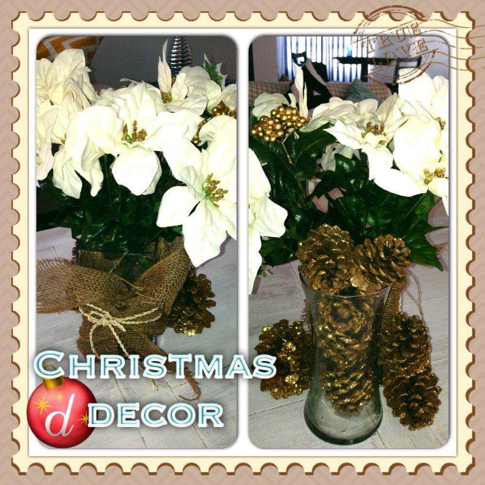 Christmas table centerpiece   Holidays   Pinterest