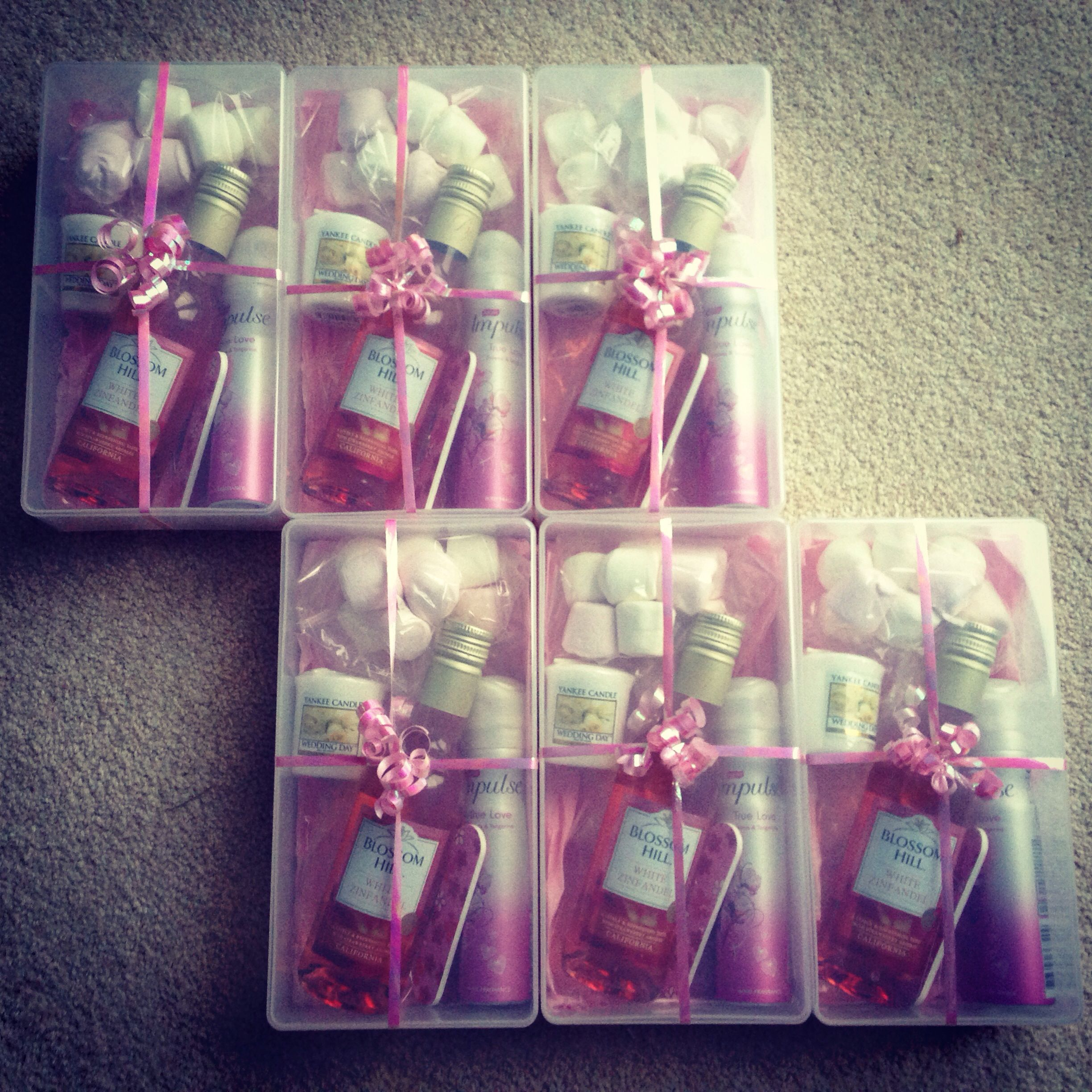DIY Will You Be My Bridesmaid Gifts Bridesmaids Pinterest