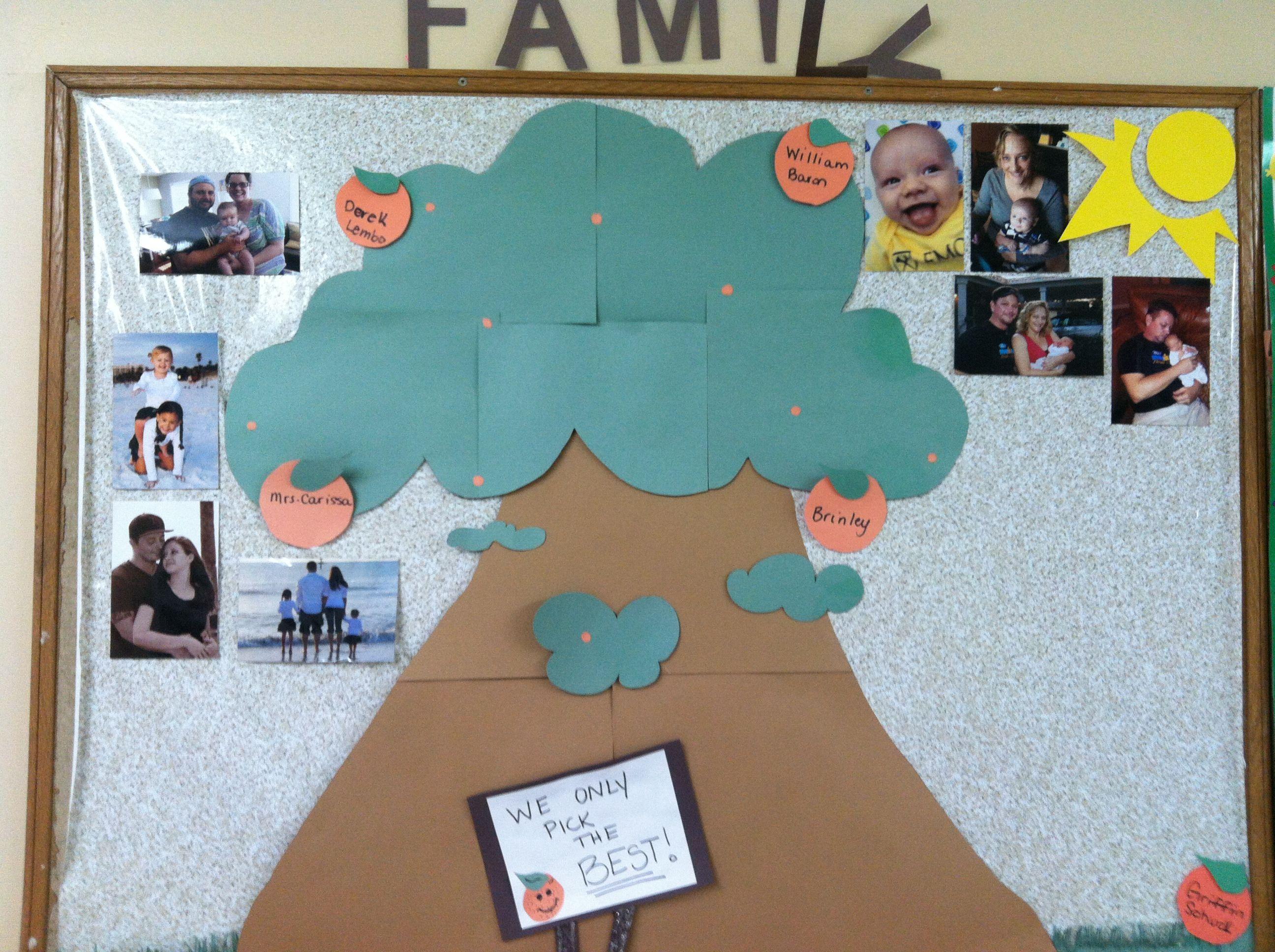 family tree bulletin board ideas for preschool family tree bulletin board teaching preschool amp toddler 255