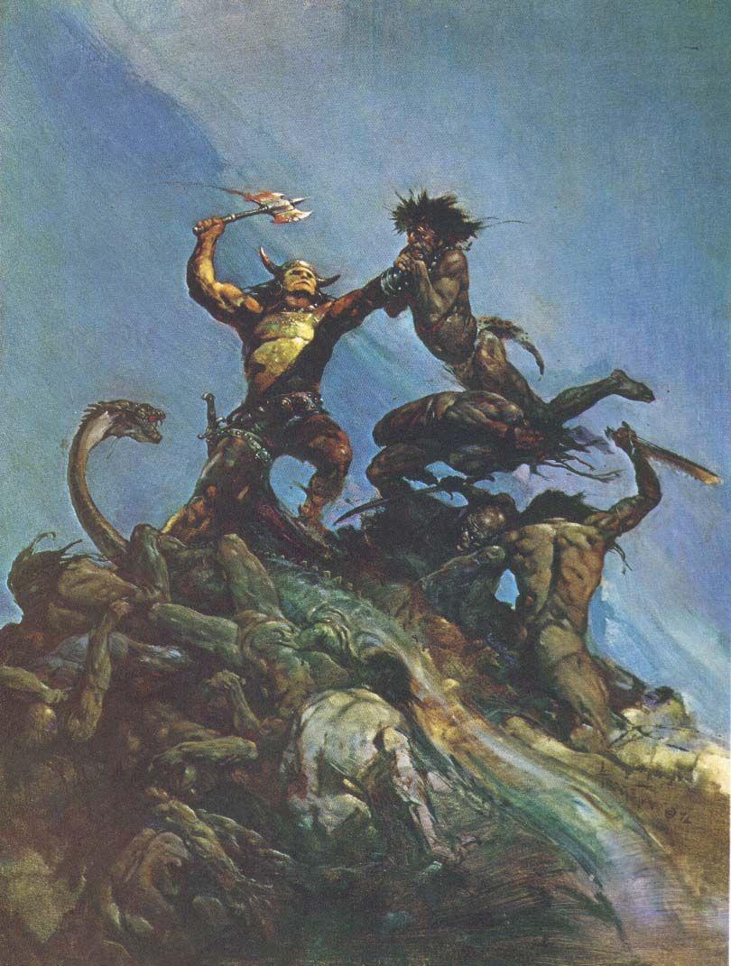 Conan by Frank Frazetta | Frank Frazetta | Pinterest