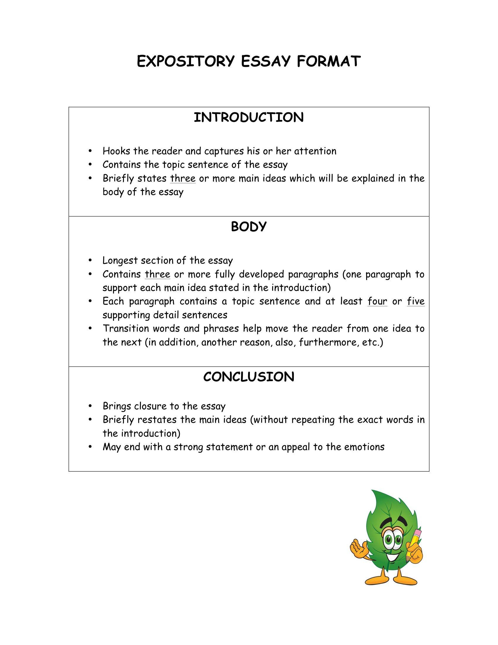 explanation of a complex process essay