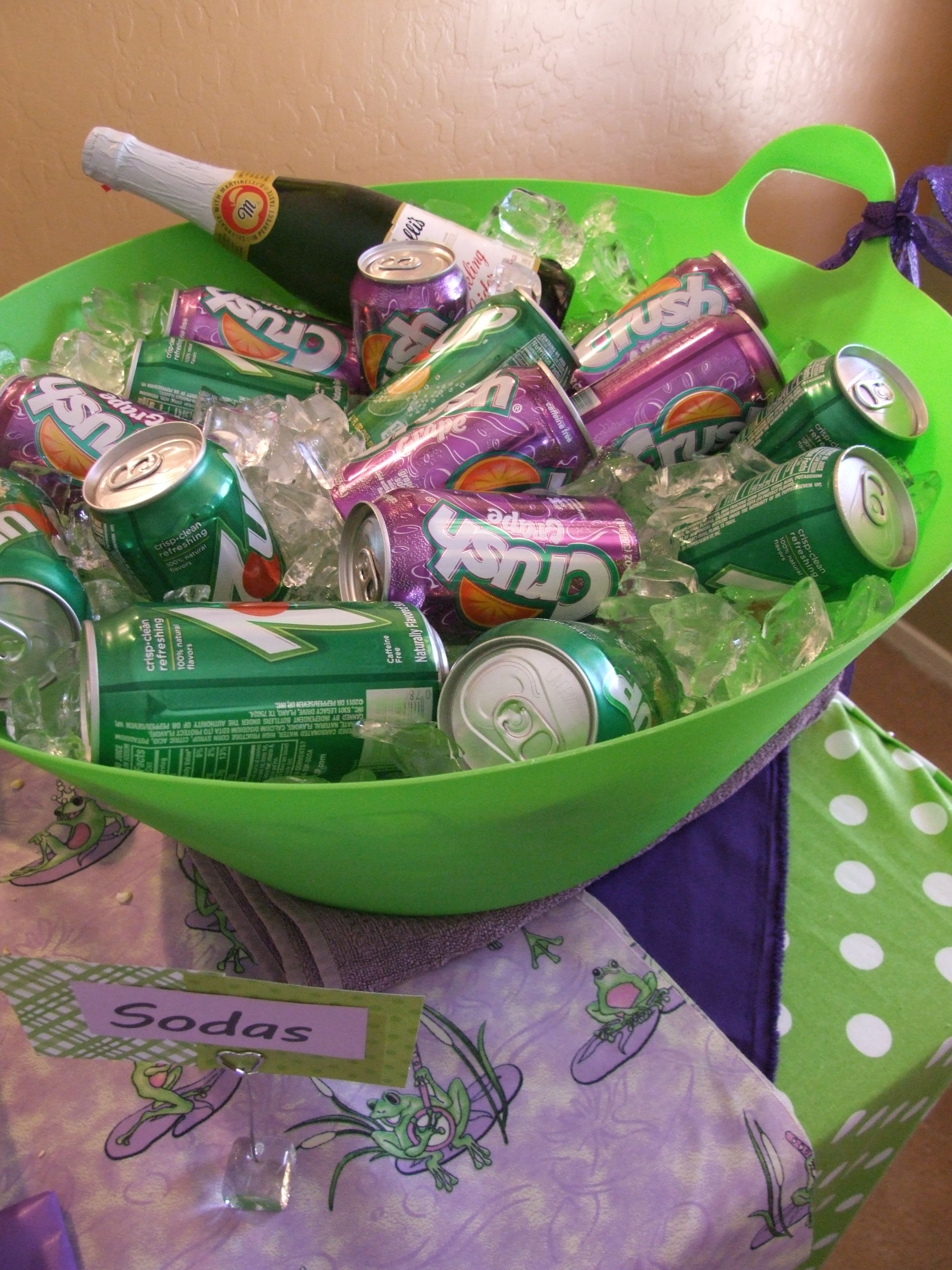 Katy 39 S Baby Shower Green And Purple Showers Pinterest