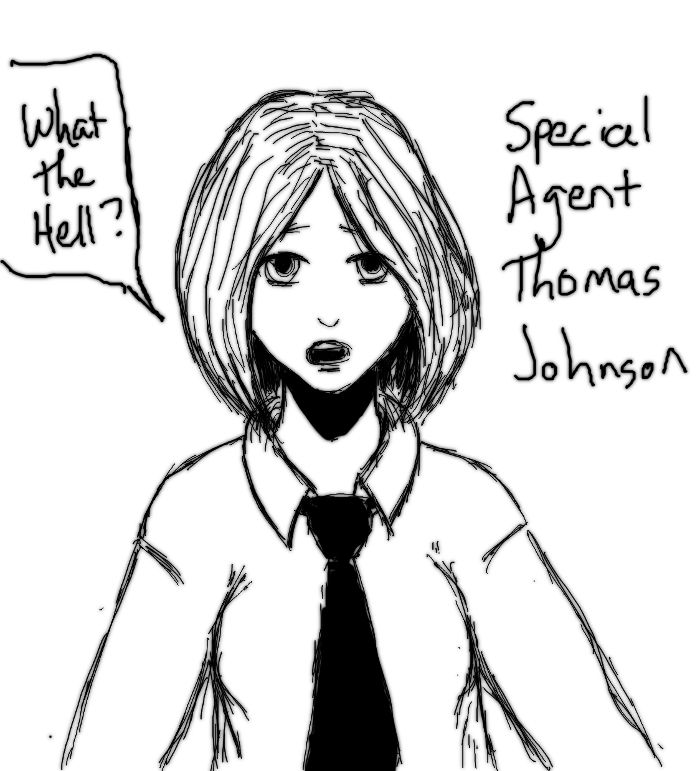 GlitchVerse - Special Agent Thomas Johnson