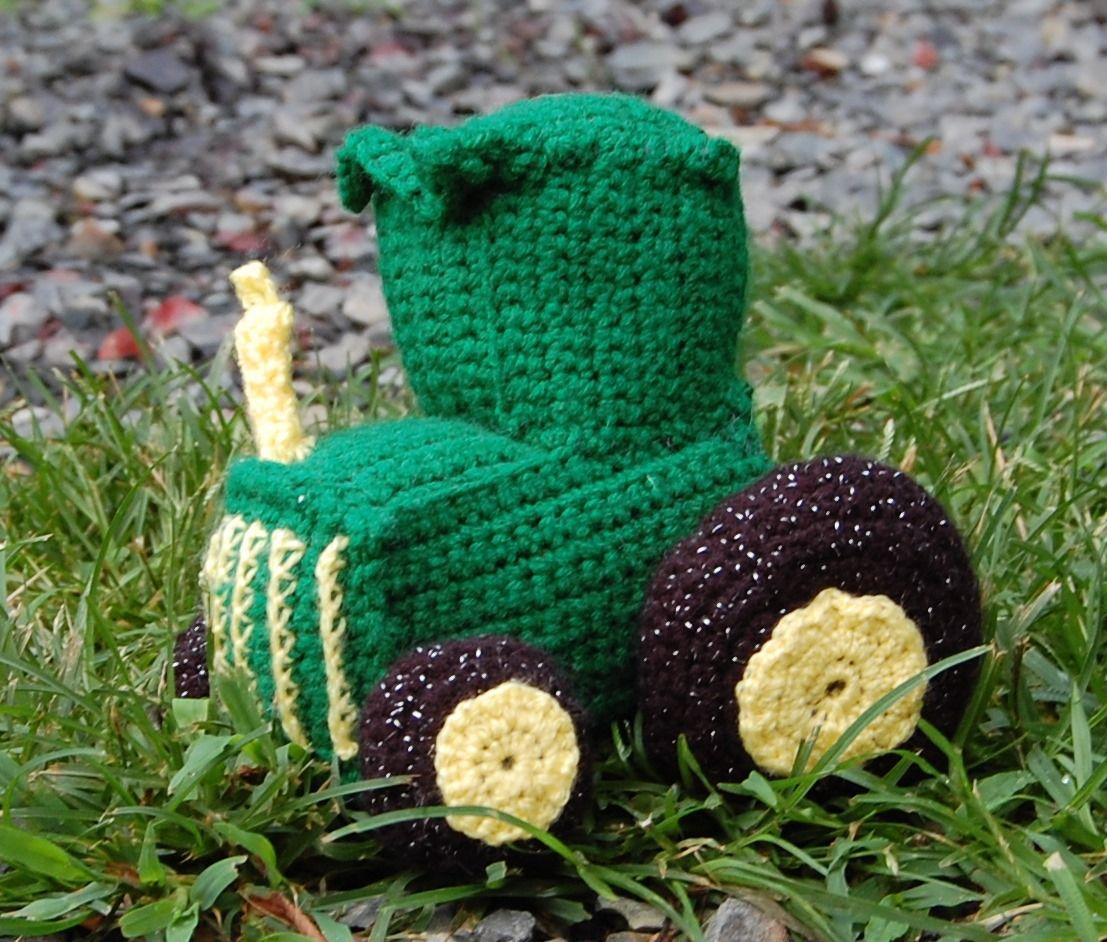 Amigurumi Crochet John Deere Tractor Crochet Pinterest