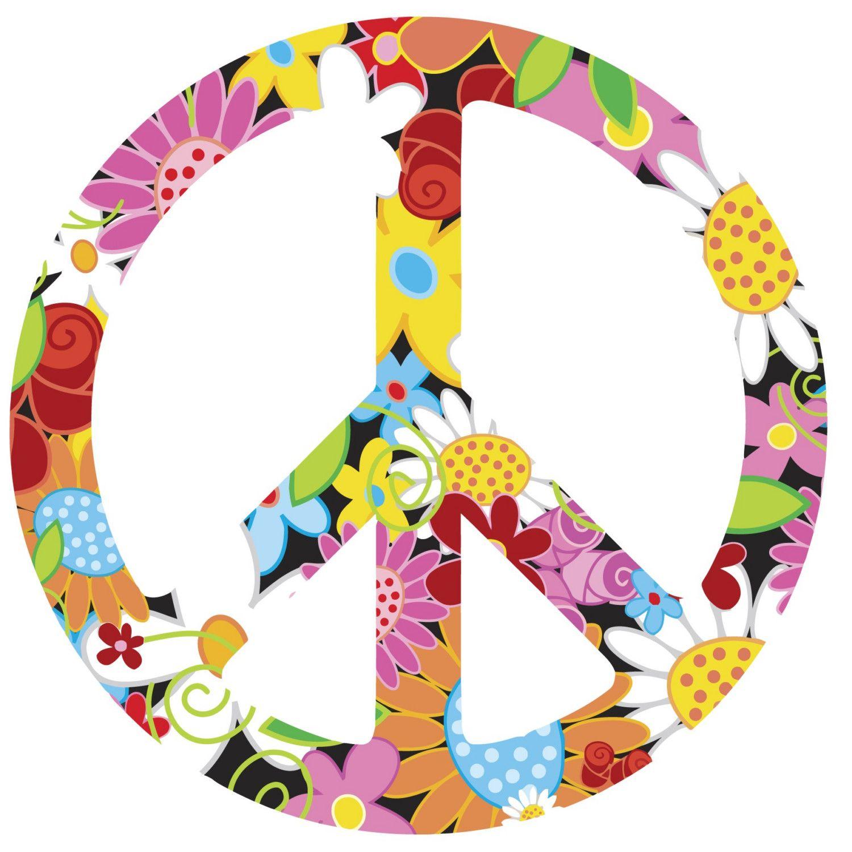 Peace Sign Hippie Chick Pinterest