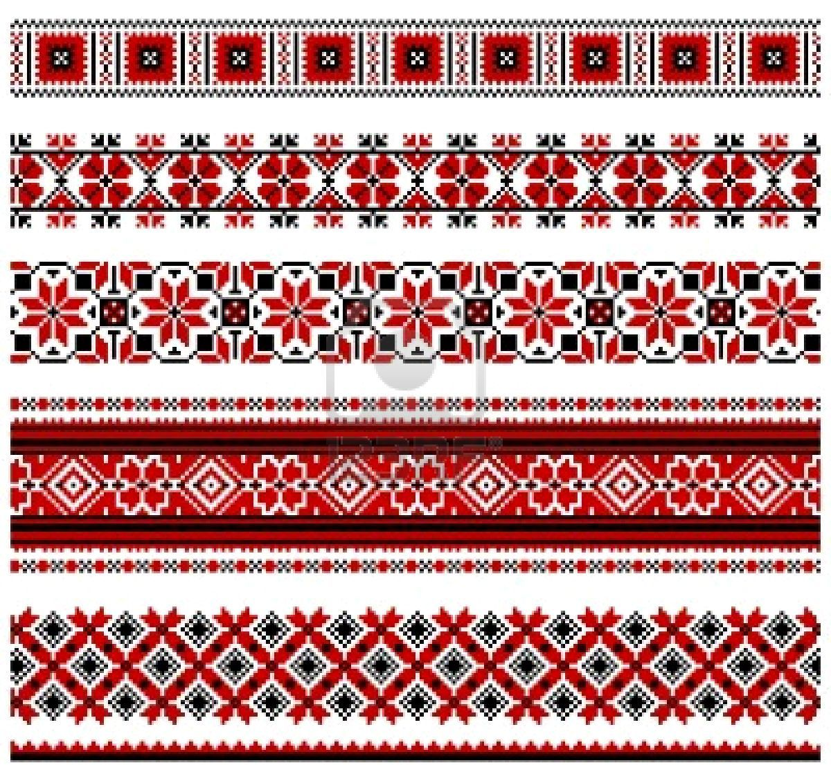Russian Embroidery  Ornament Tiles  Patterns  Pinterest