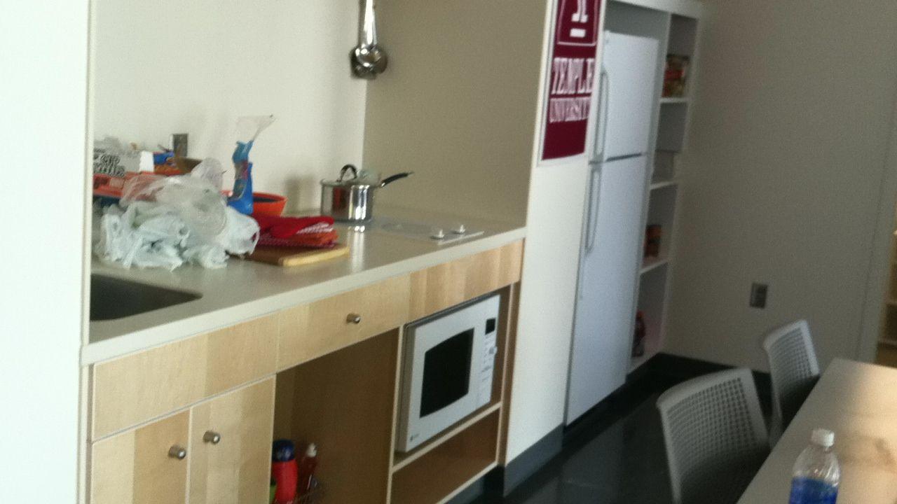 Apartment Kitchen Morgan Hall Temple University Pinterest