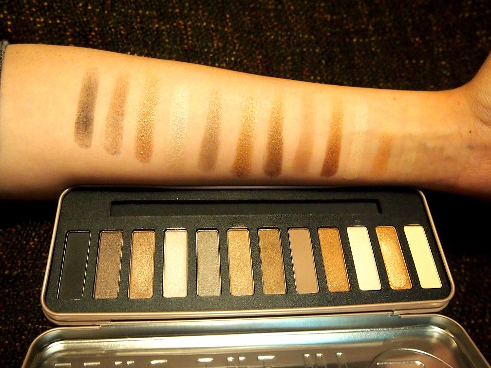 W7 in the buff natural nudes swatch