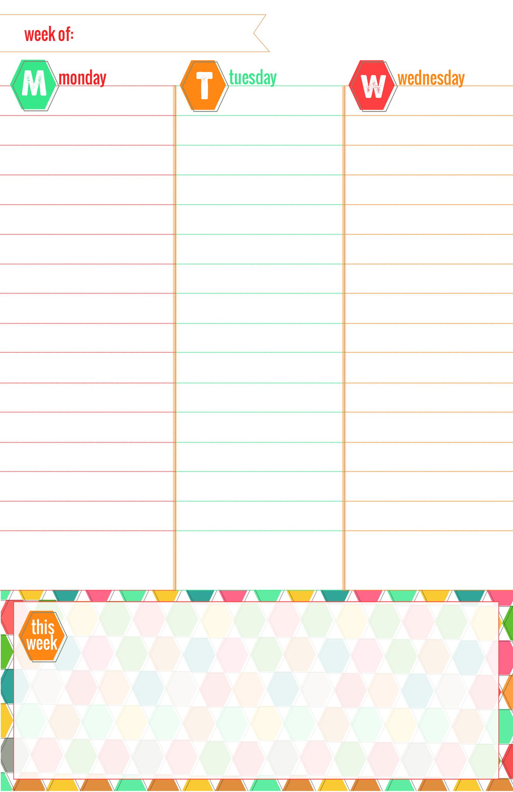 planner printable | Printables / Fonts | Pinterest