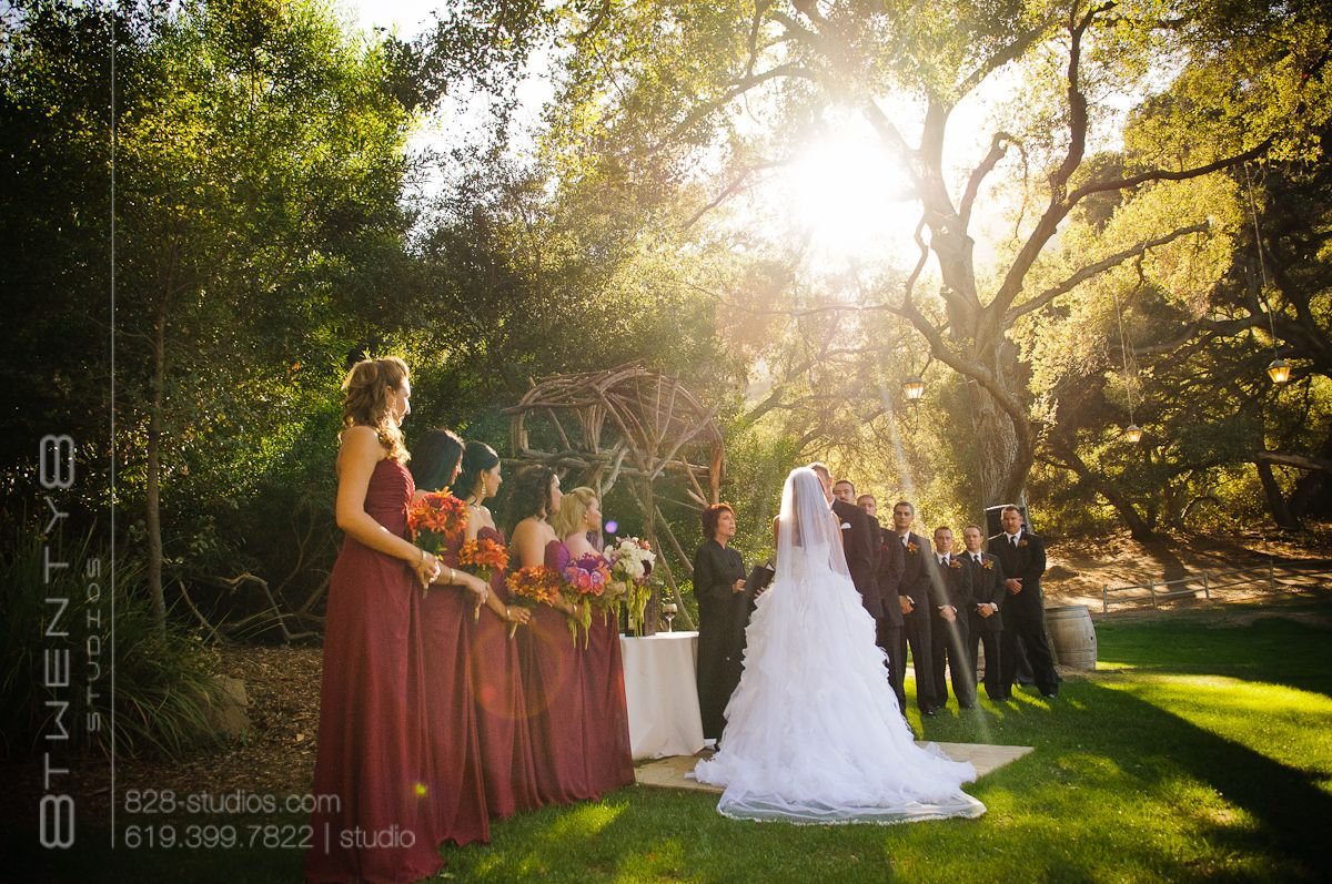 Rustic outdoor fall wedding favorite places spaces Places to have a fall wedding
