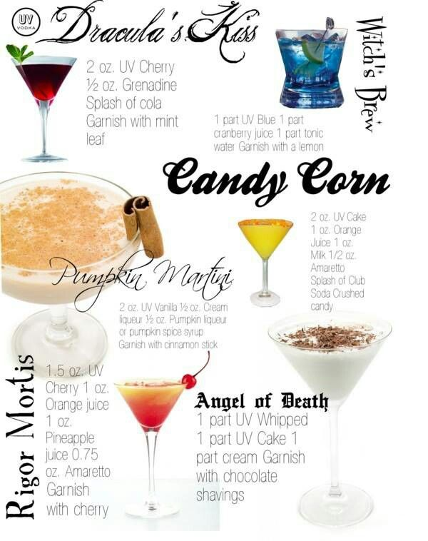 Halloween ideas 6 spooky cocktails for Fun alcoholic drinks to make