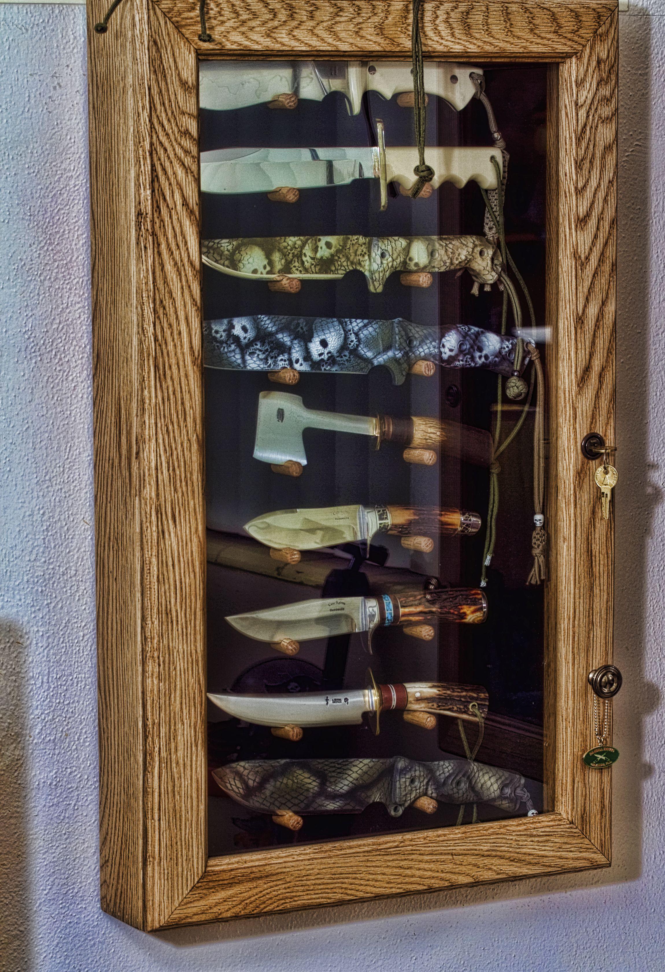 Man Cave Cabinet Ideas : Man cave knife cabinet dream home pinterest