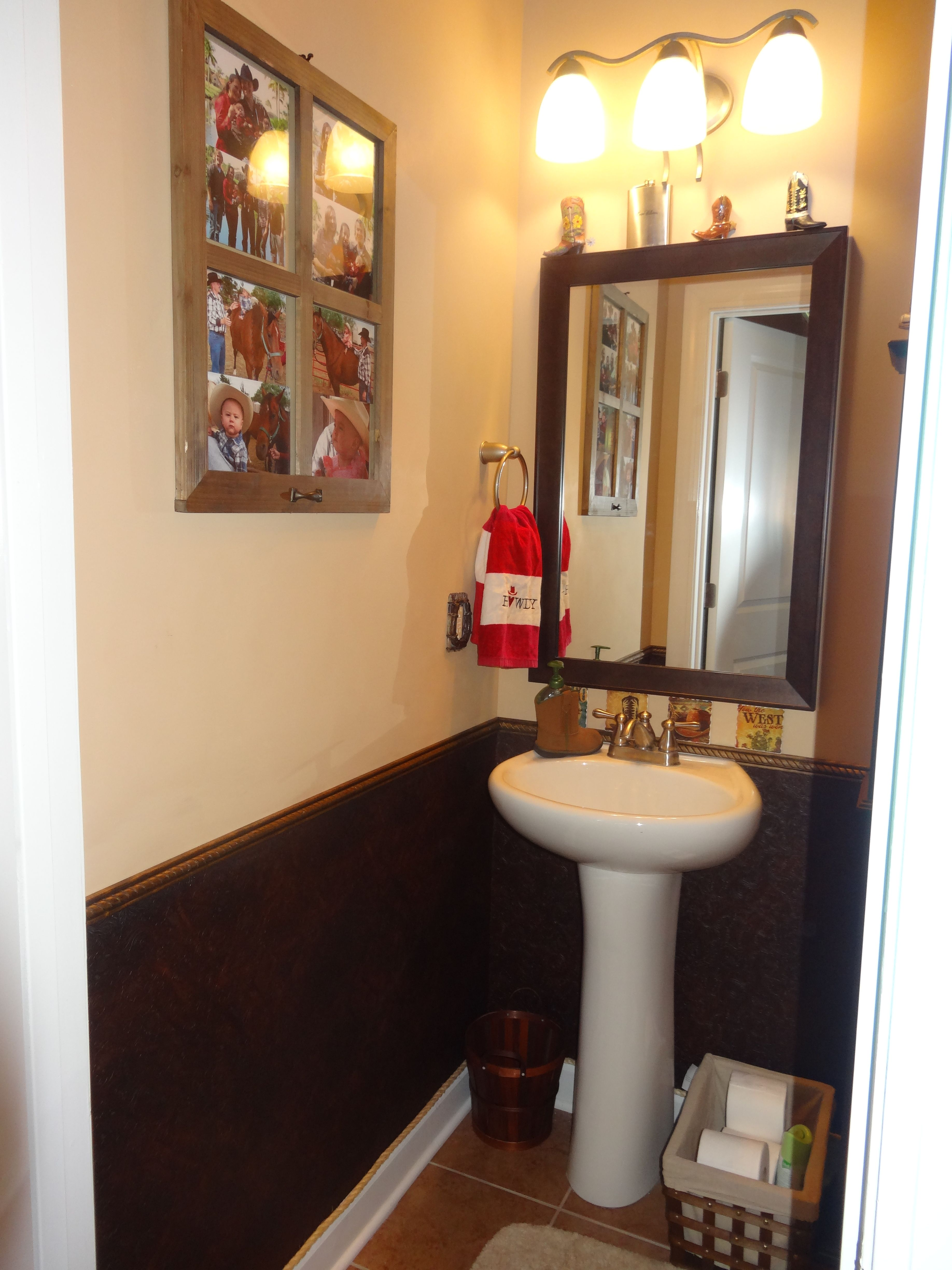 Country themed bathroom projects we ve done pinterest