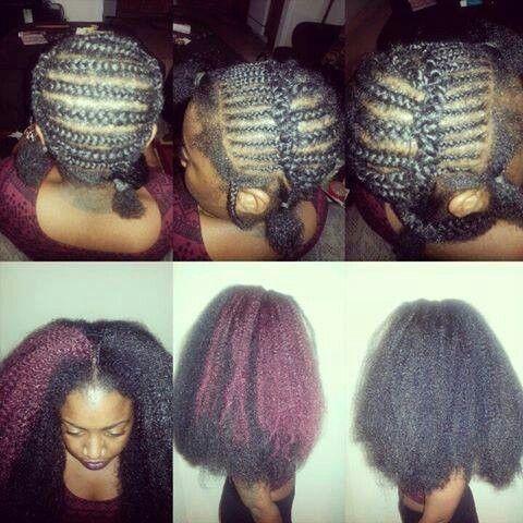 Crochet braids Hair Pinterest