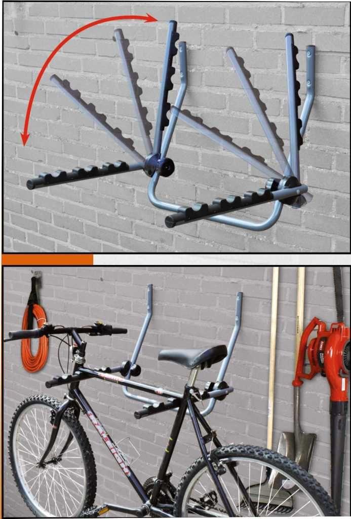 Как самому сделать крепление для велосипеда на стену