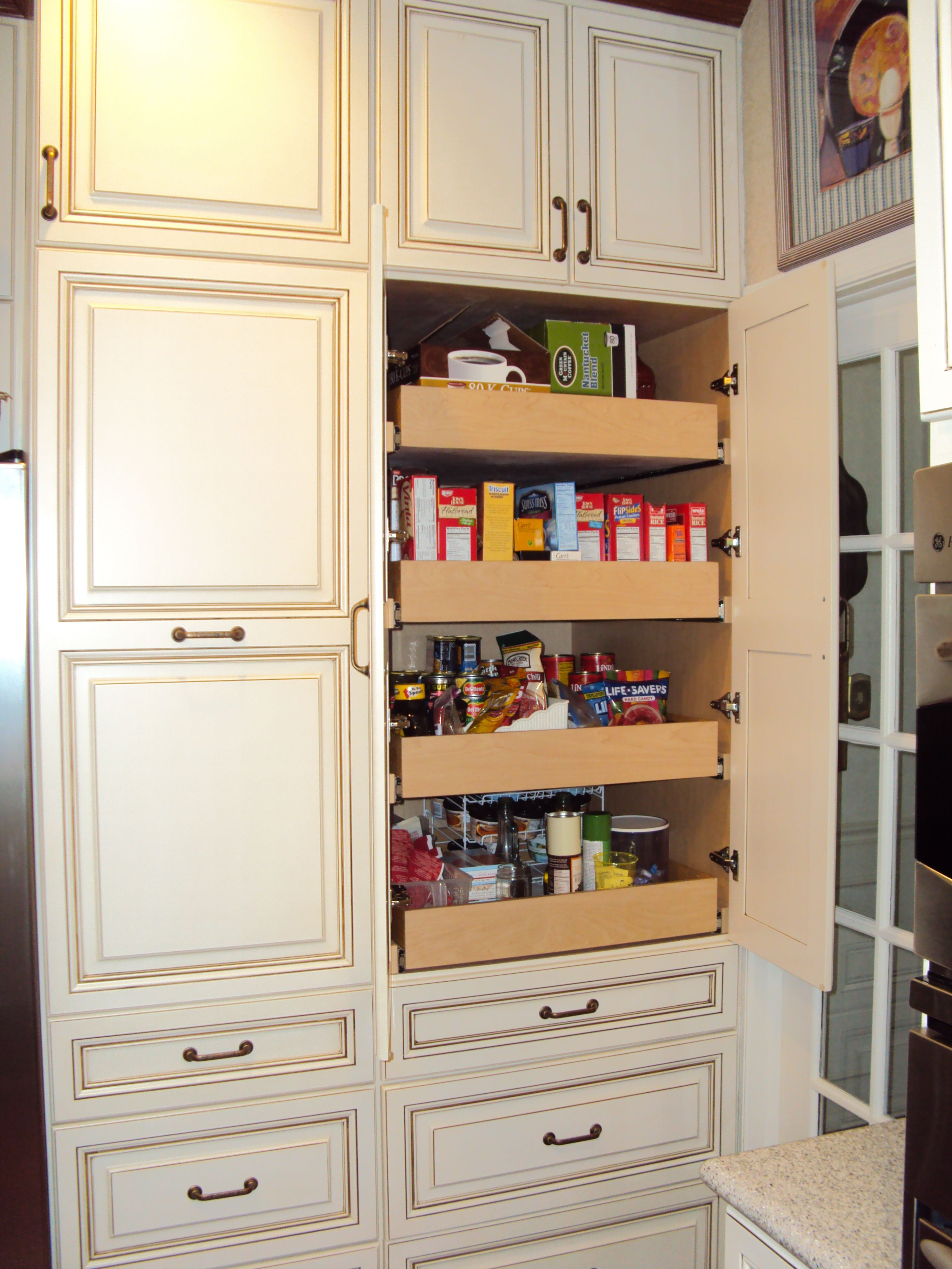 Custom Pantry By Kitchen Saver Get Organized Pinterest