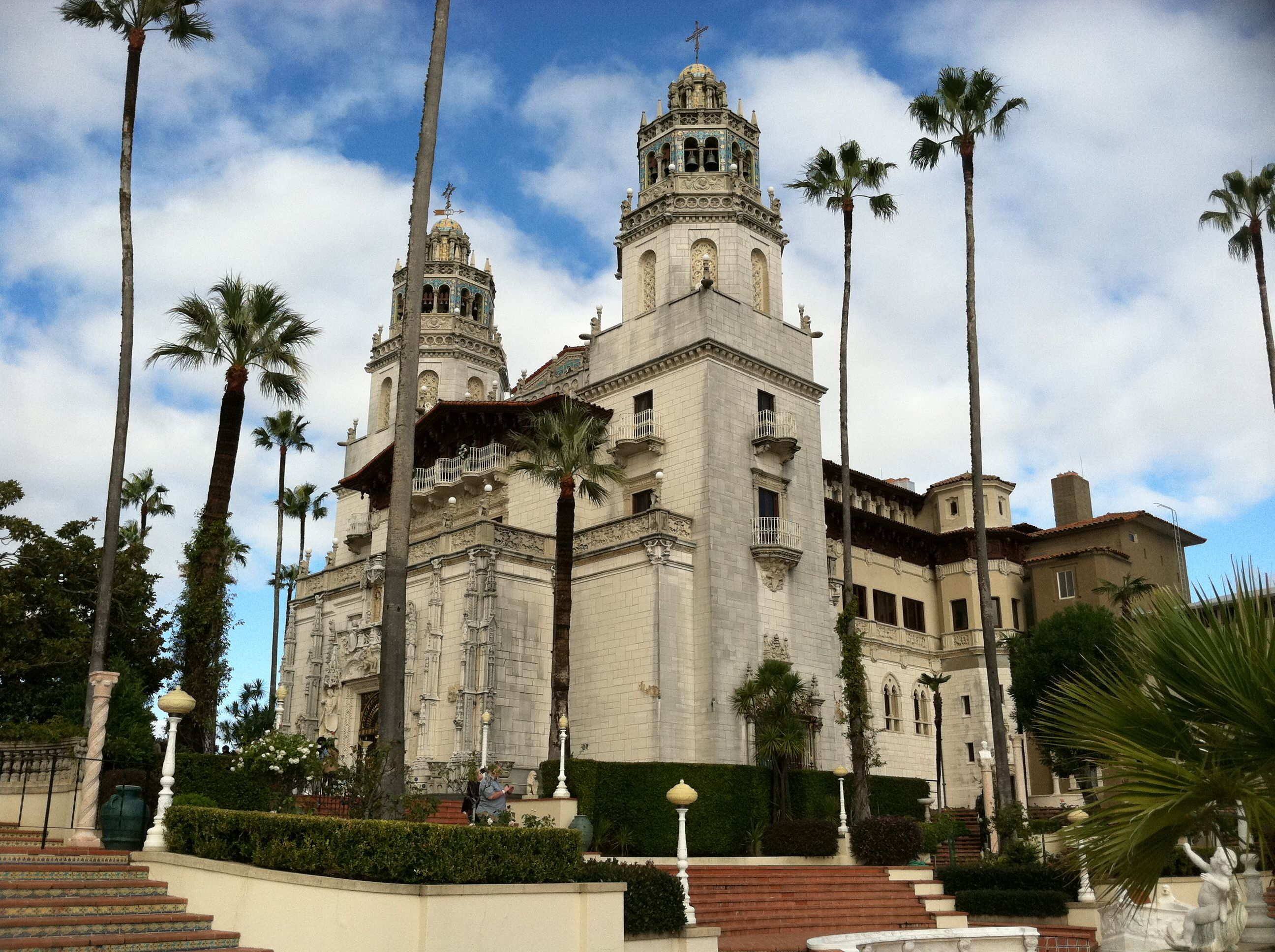 Hearst Castle San Simeon California Places Pinterest