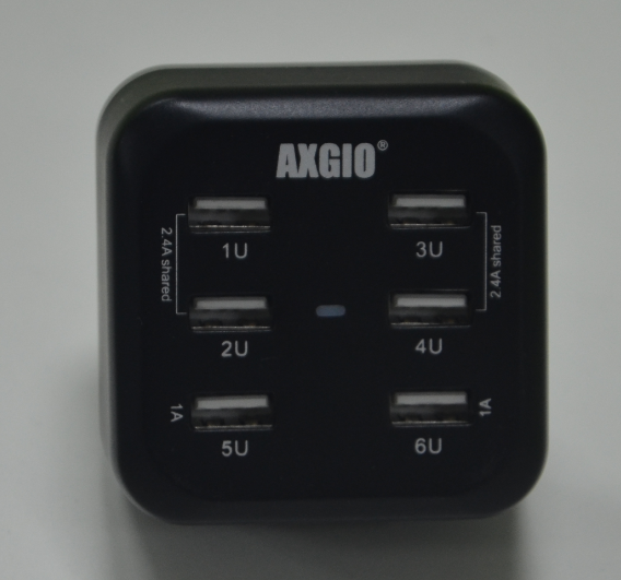6 Port Charger With 2 4a Output To Handle All Usb Devices