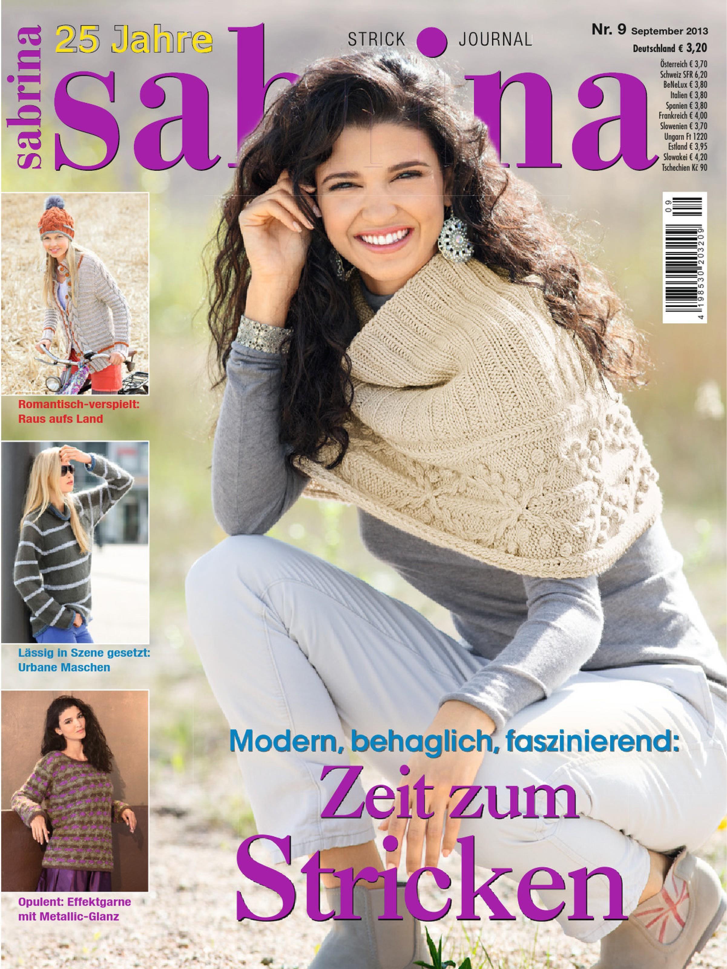 Сабрина журнал по вязанию за 2013