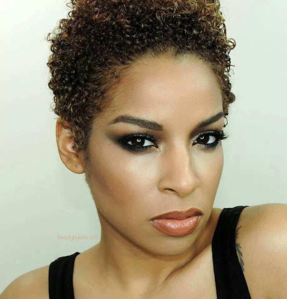 taraji hairstyles : Tapered TAPERED NATURAL HAIR STYLES Pinterest