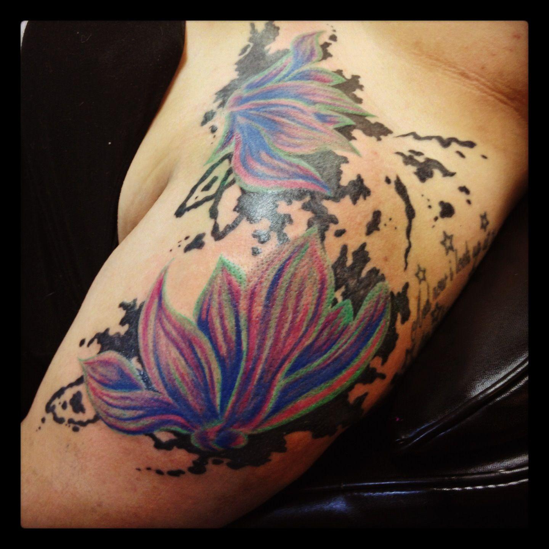 Ink Splatter Heart Tattoo   www.imgkid.com - The Image Kid ...