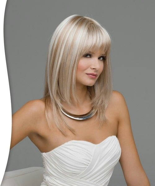 Frosted Blonde Hair Color