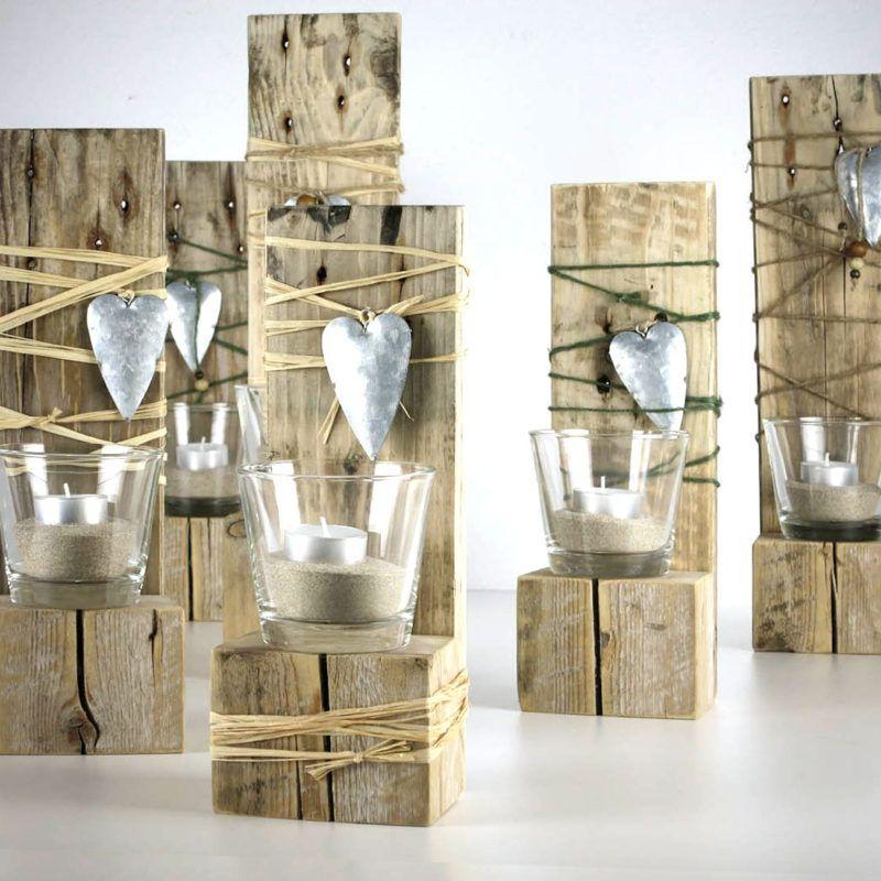 Teelicht Deko Palettenholz | Paletten | Holz, Palette und Deko