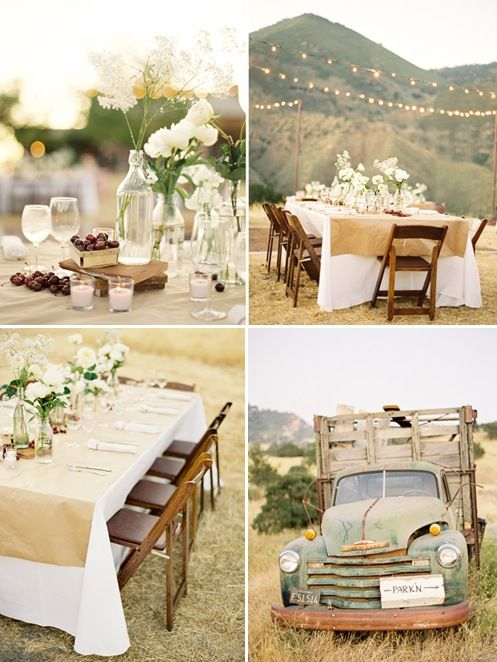 Beautiful outdoor tablescape wedding ideas pinterest for Pinterest outdoor wedding ideas