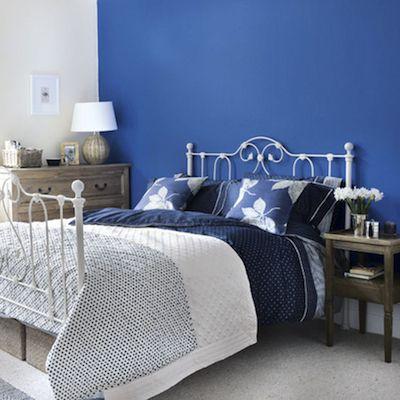 Chambre Bleu Et Blanc. D Co Chambre Bleu Nuit. Dco Chambre Bleu ...