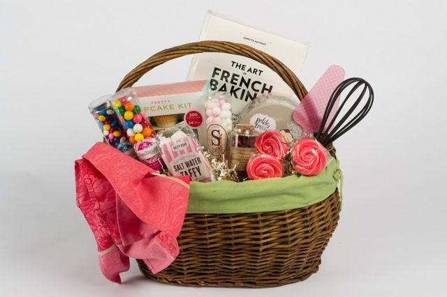 Baking gift basket thoughtful and fun gift ideas pinterest for Homemade baking gifts for christmas