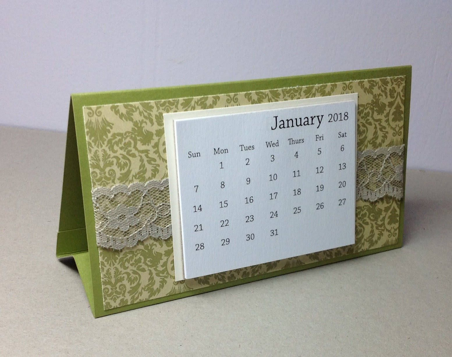 Old fashioned desk calendar 85