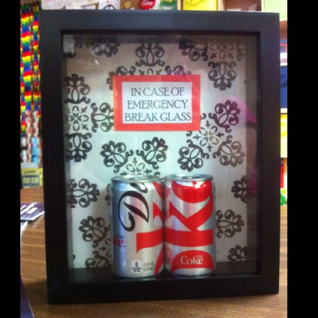 Diet Coke Emergency Kit Gift Ideas Pinterest
