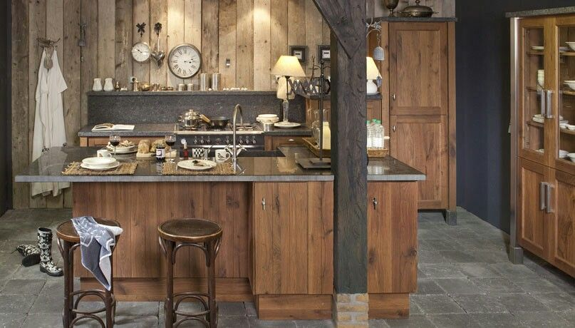 Keuken Werkbank Hout : Kitchen Kitchens and Bathrooms Pinterest