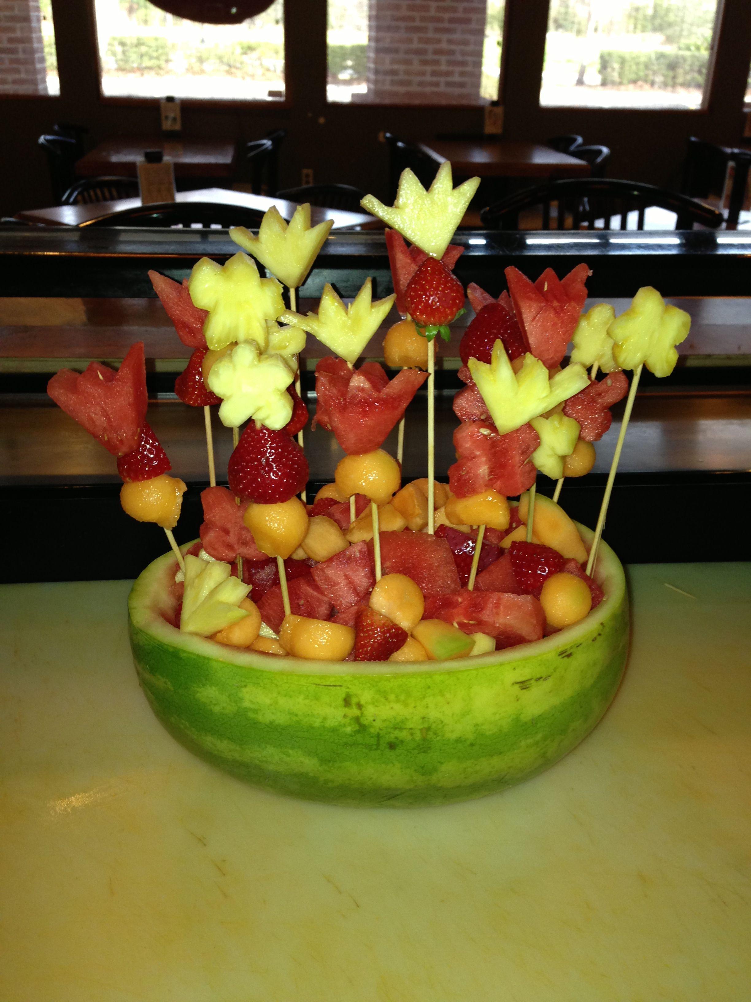 Fruit carving ideas food art pinterest