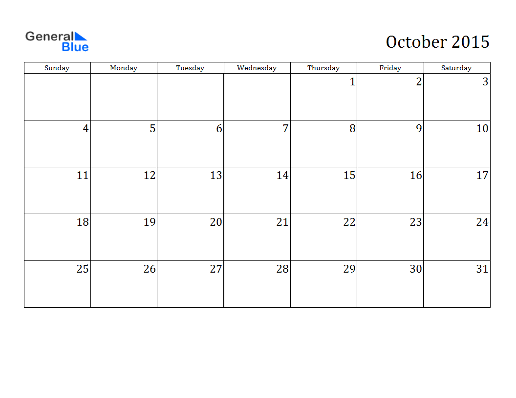 Free Download 2015 October Calendar Pictures, Images, Templates ...