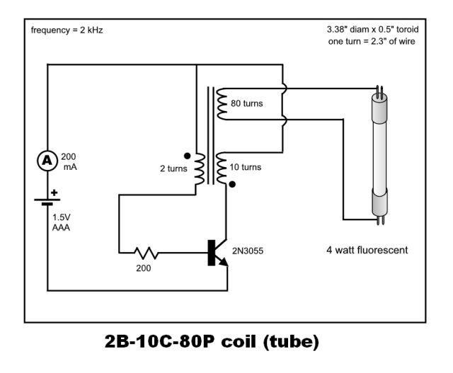 1 Watt Led Driver Circuit 15v Input Modified Joule Thief Oukasfo