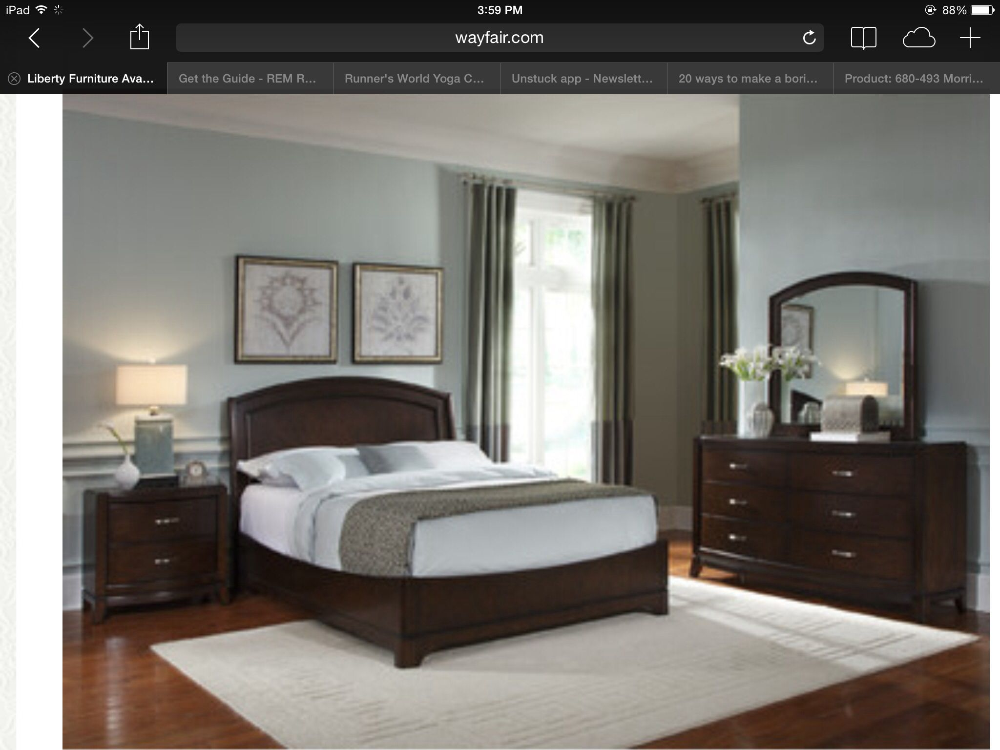 Avalon Bedroom Furniture On Wayfair Bedroom Pinterest