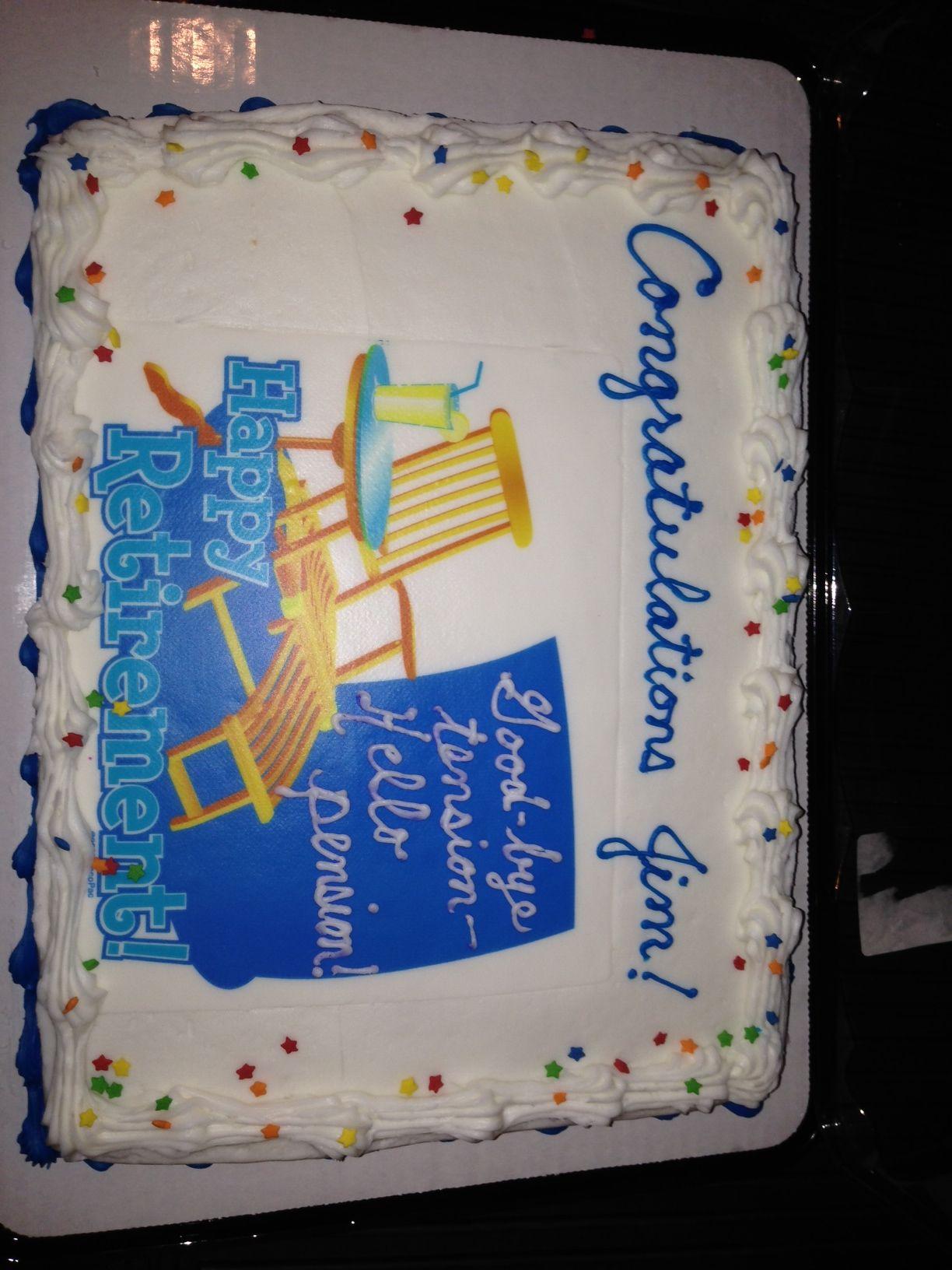 Retirement Cake Sayings Quotes Quotesgram