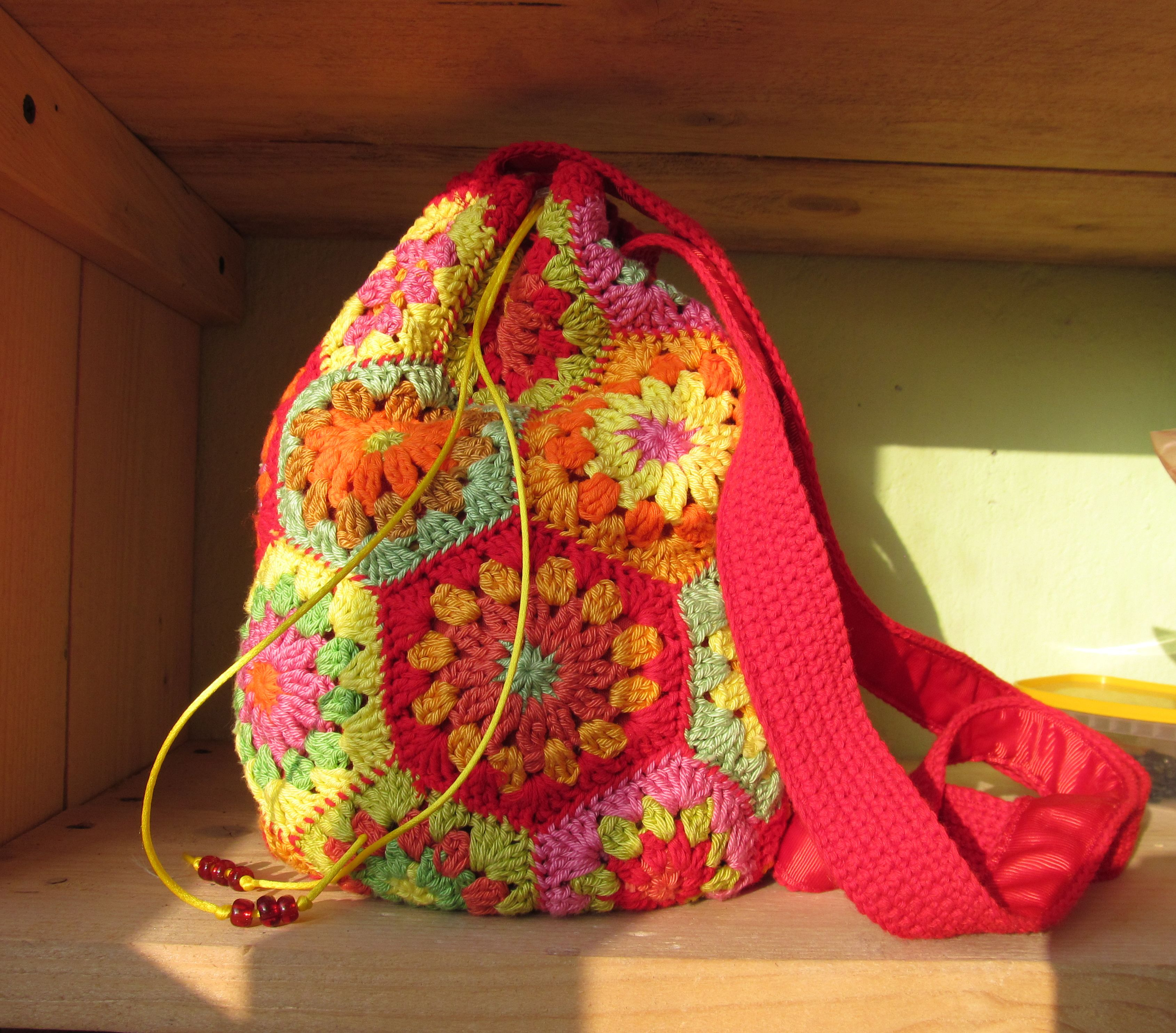 small crochet bag Crochet Pinterest