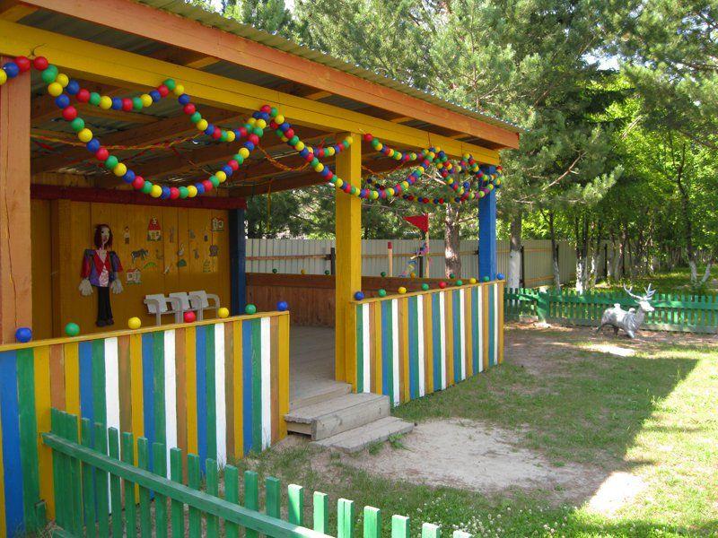 Как украсить детскую площадку в детском саду своими руками на новый год