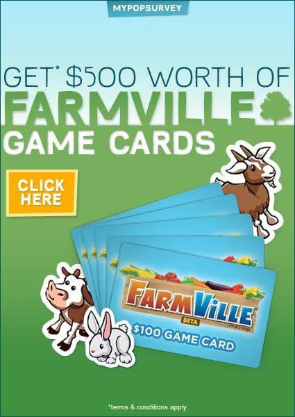 Get Free Farmville Cash. How to Get Your $500 free Farmville Cash