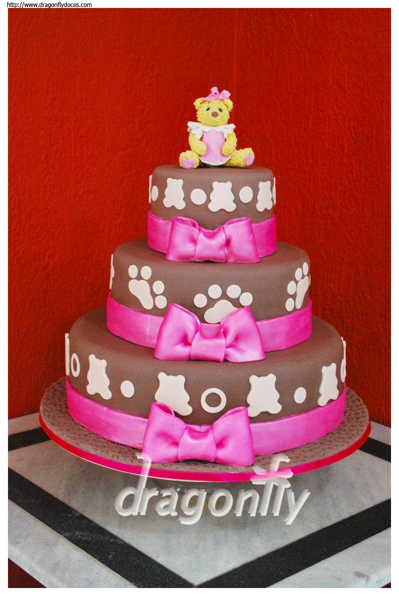 Teddy Bear Birthday Cake  All sorts of Birthday/Shower/Christening C ...