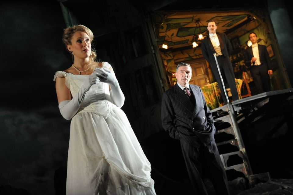 an inspector calls sheila The characters in act one of an inspector calls the scene starts in act one with the birling family sitting around the dining table celebrating the recent engagement of sheila birling to gerald croft.