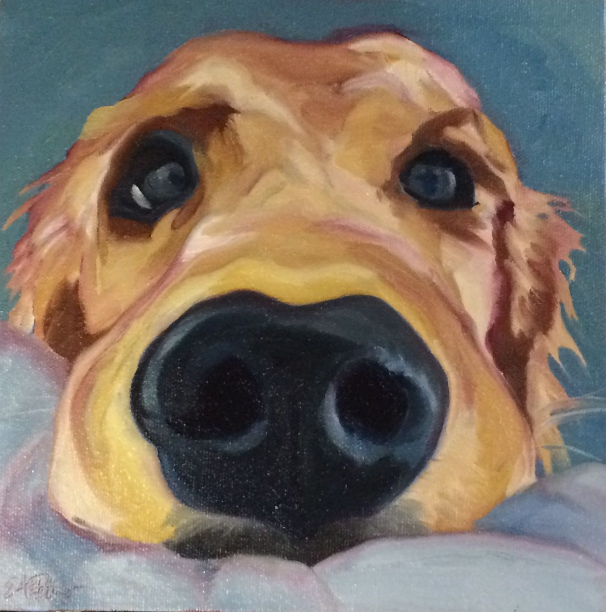 Dog paintings related keywords suggestions dog for Painting of your dog
