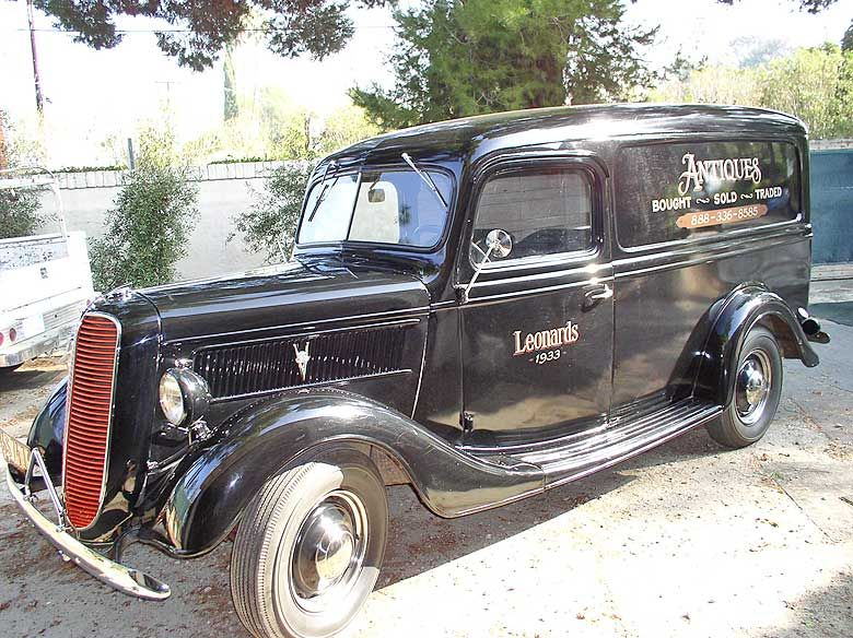 1937 Ford Panel Delivery Ford Trucks Pinterest