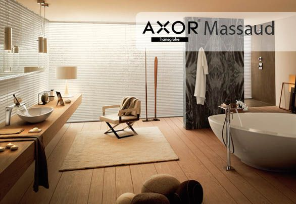Axor Massaud harmoniously unites design and technology. A left Nature and minimalist original design hand highly acclaimed Jean-Marie Massaud