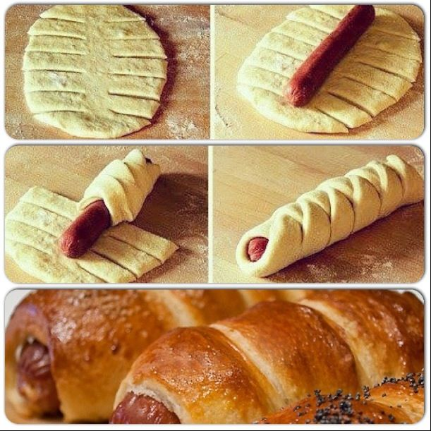How to make sausage rolls | Food & deliciousness | Pinterest