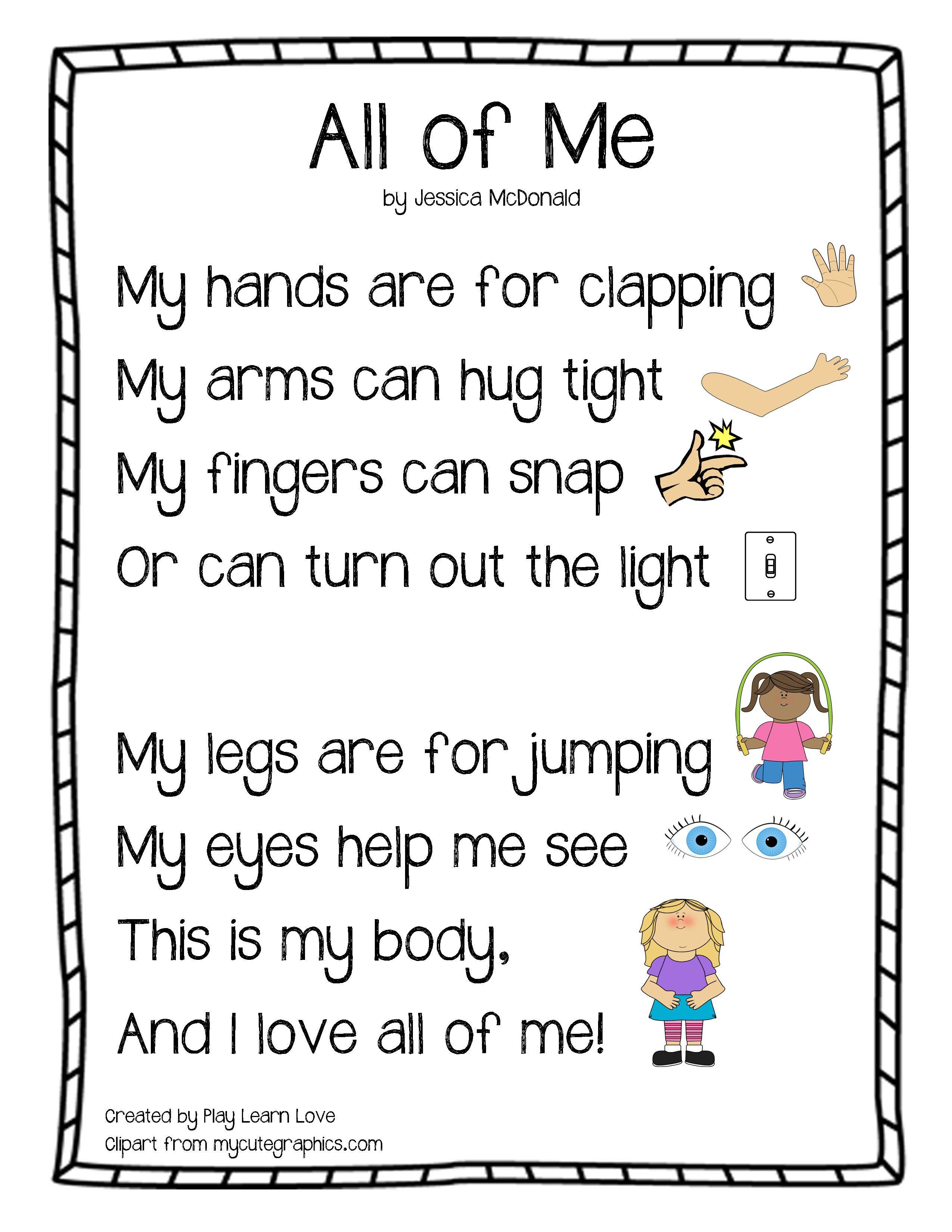 Body parts preschool on pinterest senses preschool body parts theme and 5 senses preschool